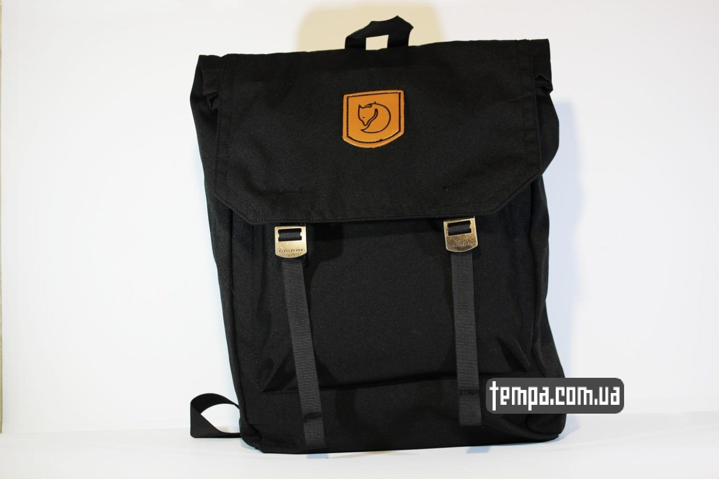 рюкзак сумка Fjallraven Foldsack No.1 Backpack черный