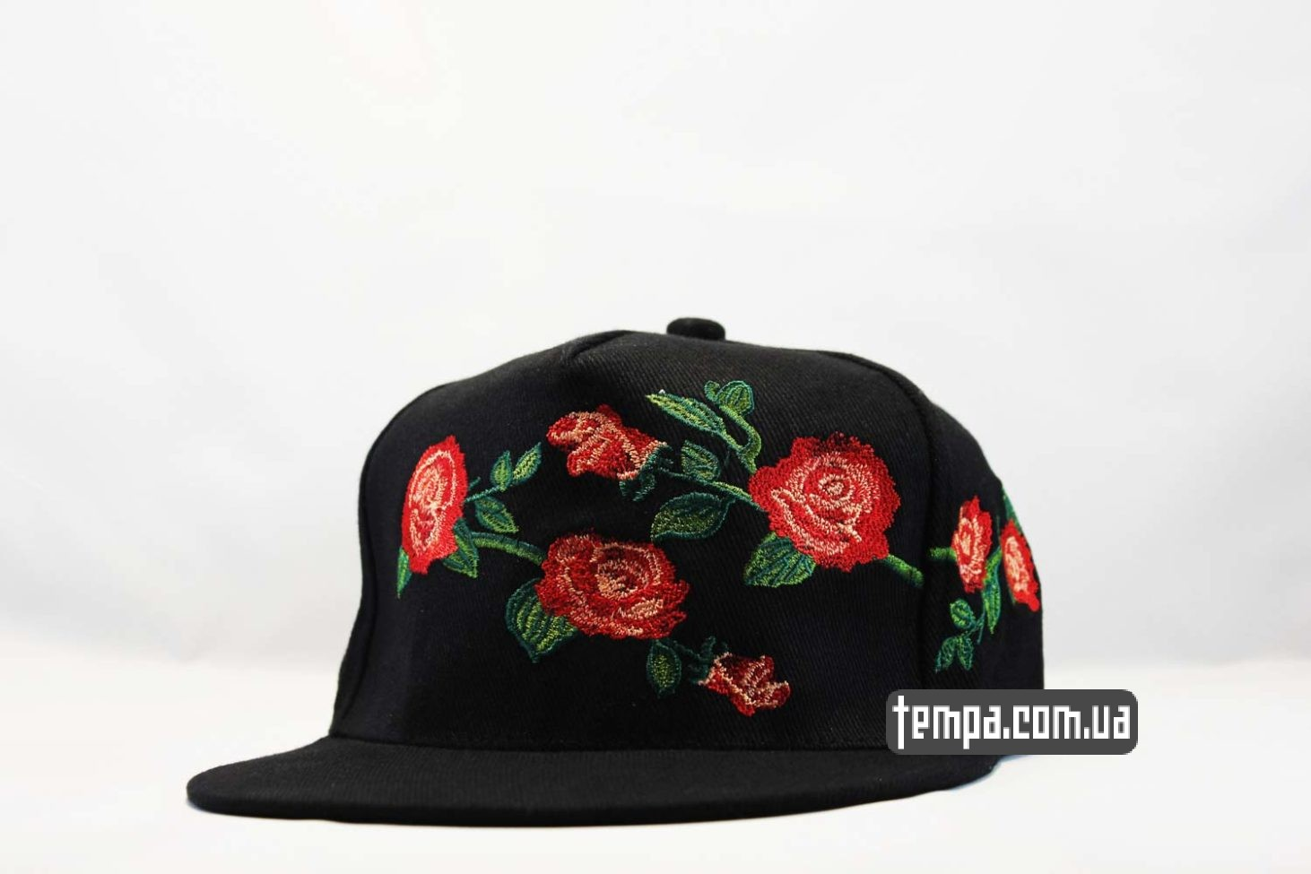 кепка Snapback MI CASA Cayler And Sons с розами черная