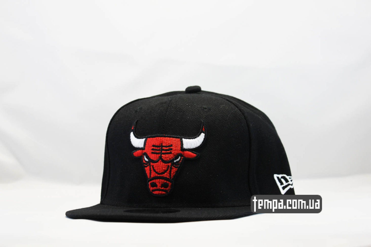 кепка snapback Chicago Bulls New Era 9fifty черная с быком
