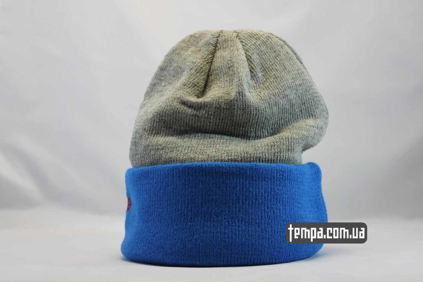 нью эра зимняя одежда шапка beanie SUPERMAN NewEra синяя серая
