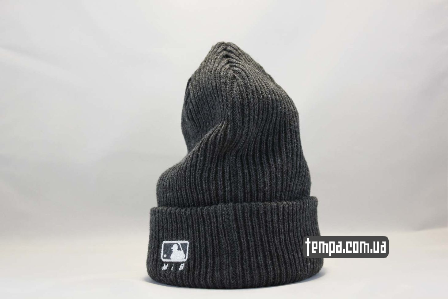 бини шапка beanie LA Los Angeles New Era серая