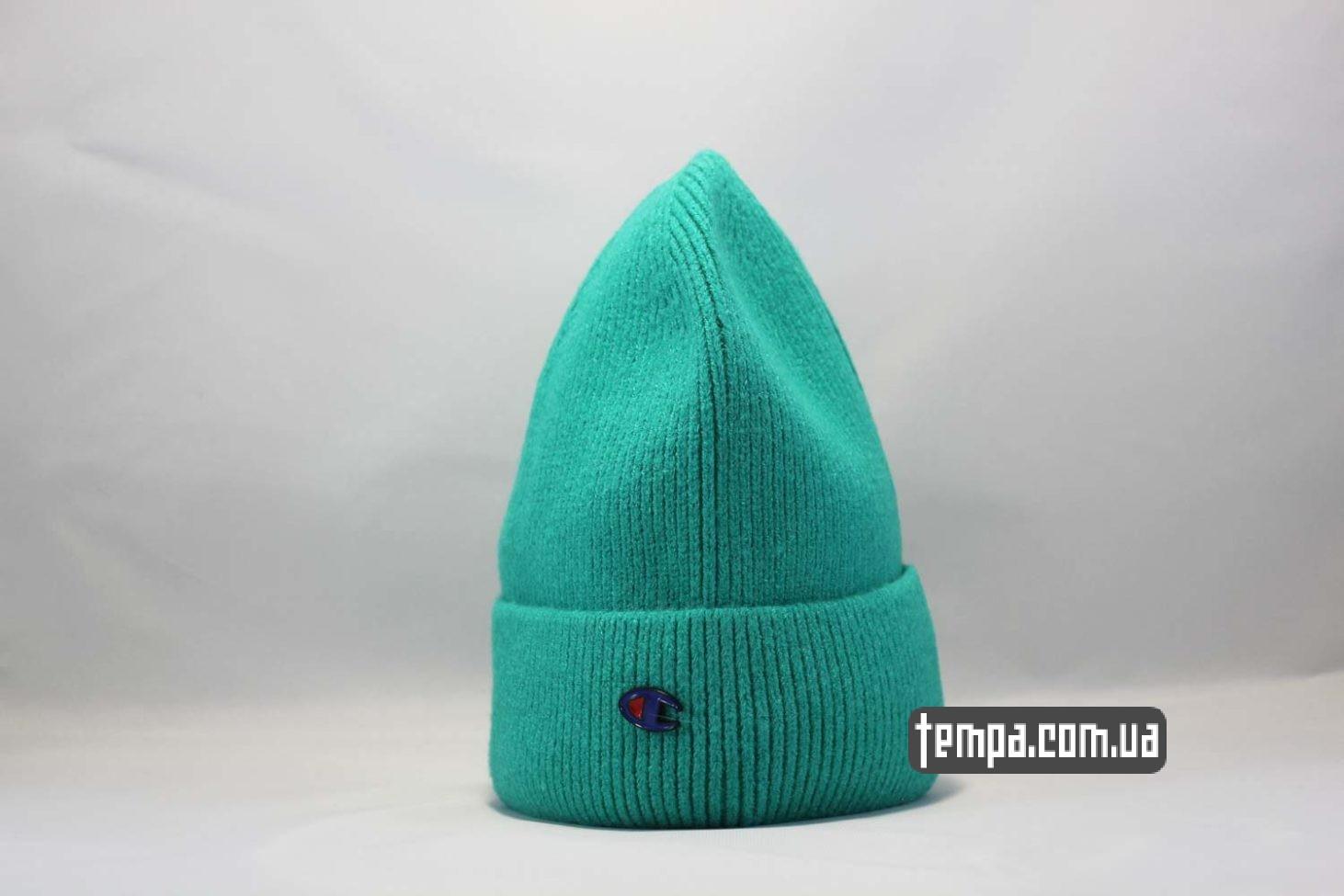 бини украина шапка beanie Champion green зеленая купить Украина
