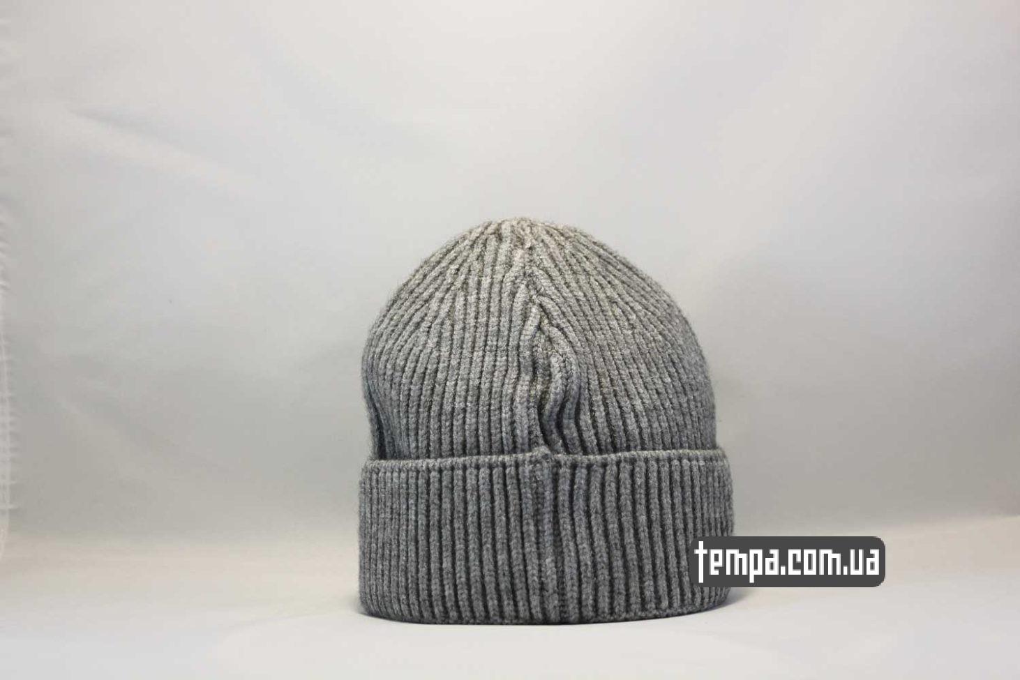 кархарт украина шапка beanie Carhartt grey серая купить магазин