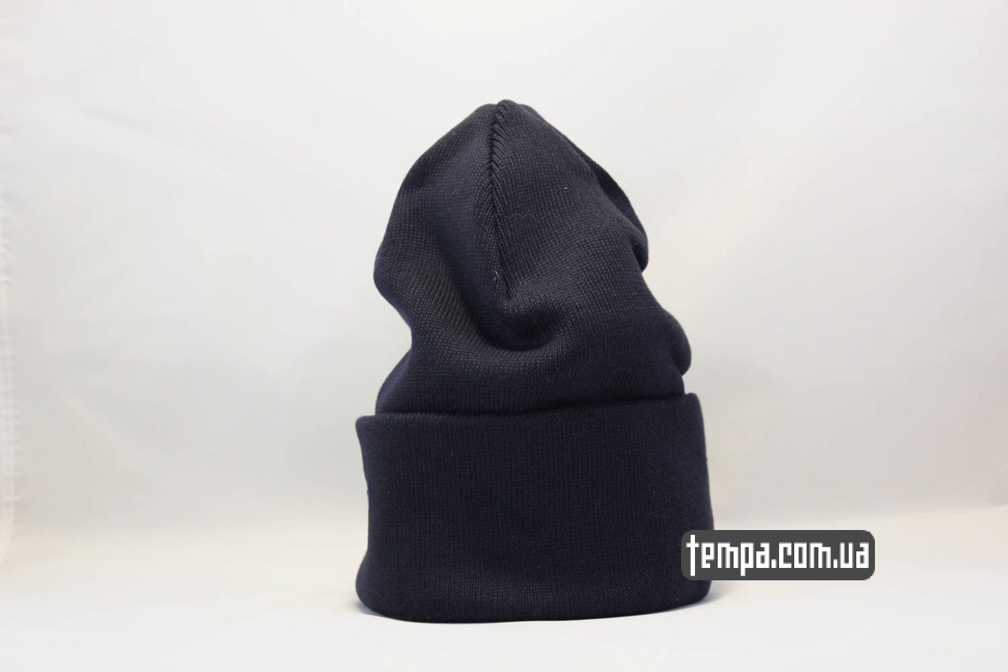 купить туплую зминюю шапка beanie Dickies синяя купить Украина