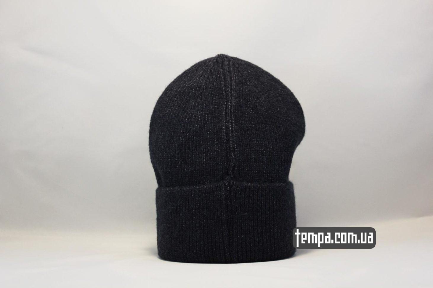 магазин шапок бини шапка beanie Champion black черная купить Украина