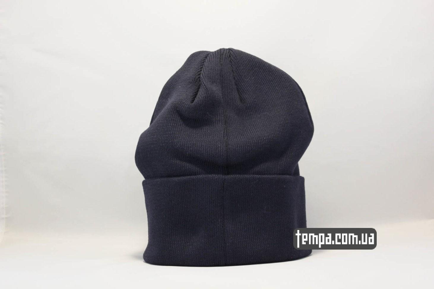магазин шапок бини украина шапка beanie Dickies синяя купить Украина