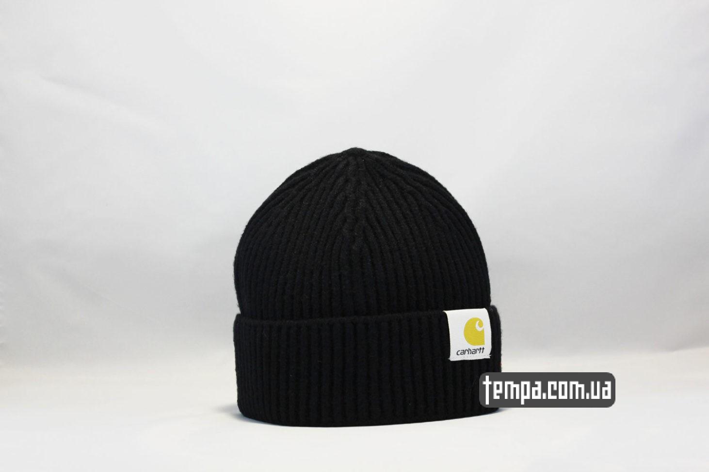 шапка beanie Carhartt черная купить Украина