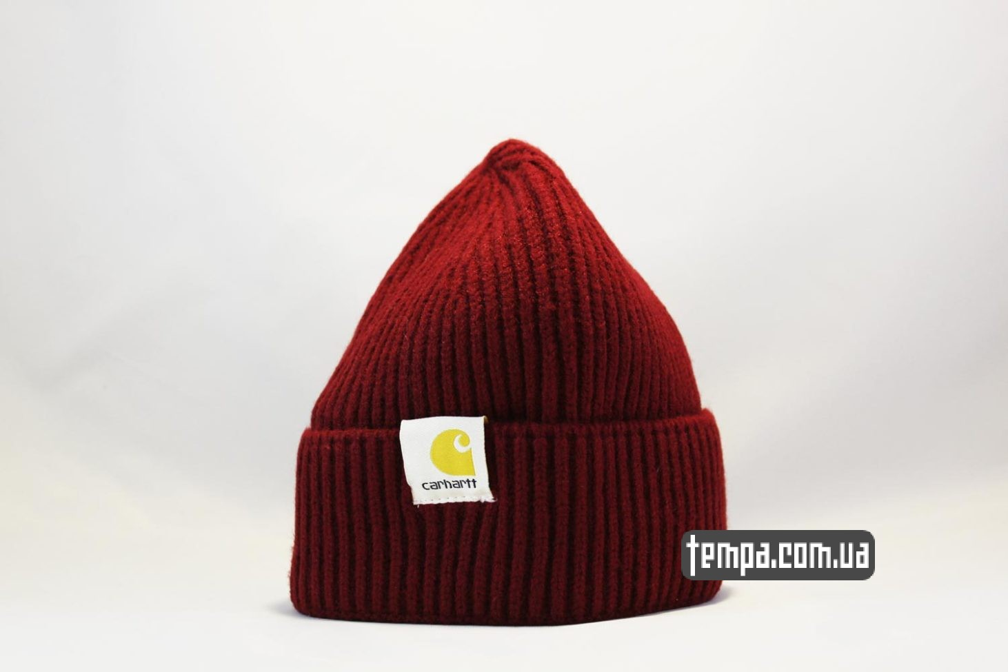 кархарт украина оригинал шапка beanie Carhartt red красная купить
