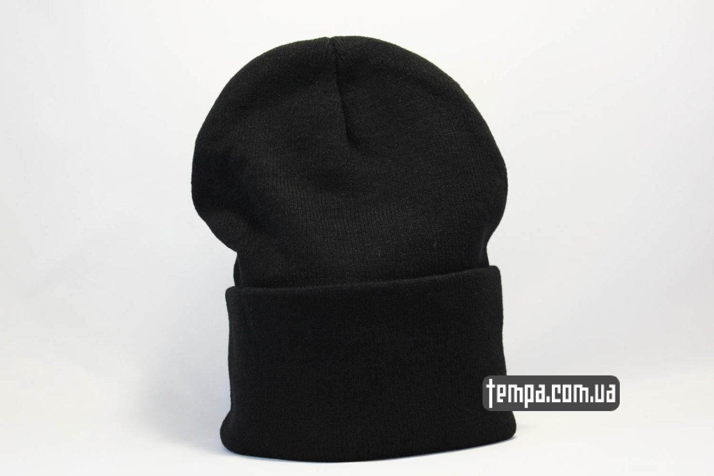 шапка beanie чисто черная без надписей ASOS купить Украина