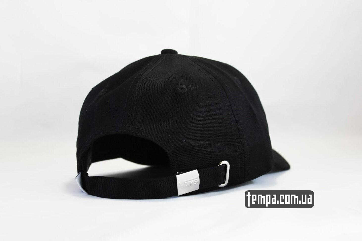 классическая бейсболка кепка vans black classic бейсболка венс