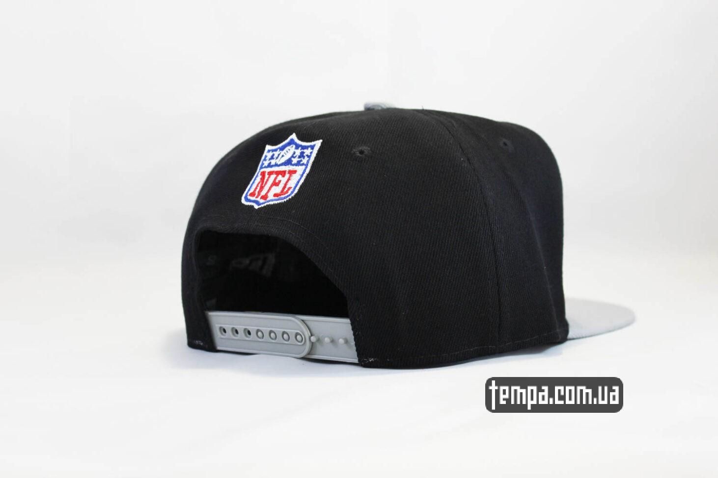 нью эра украина кепка snapback Raiders New Era черная серая