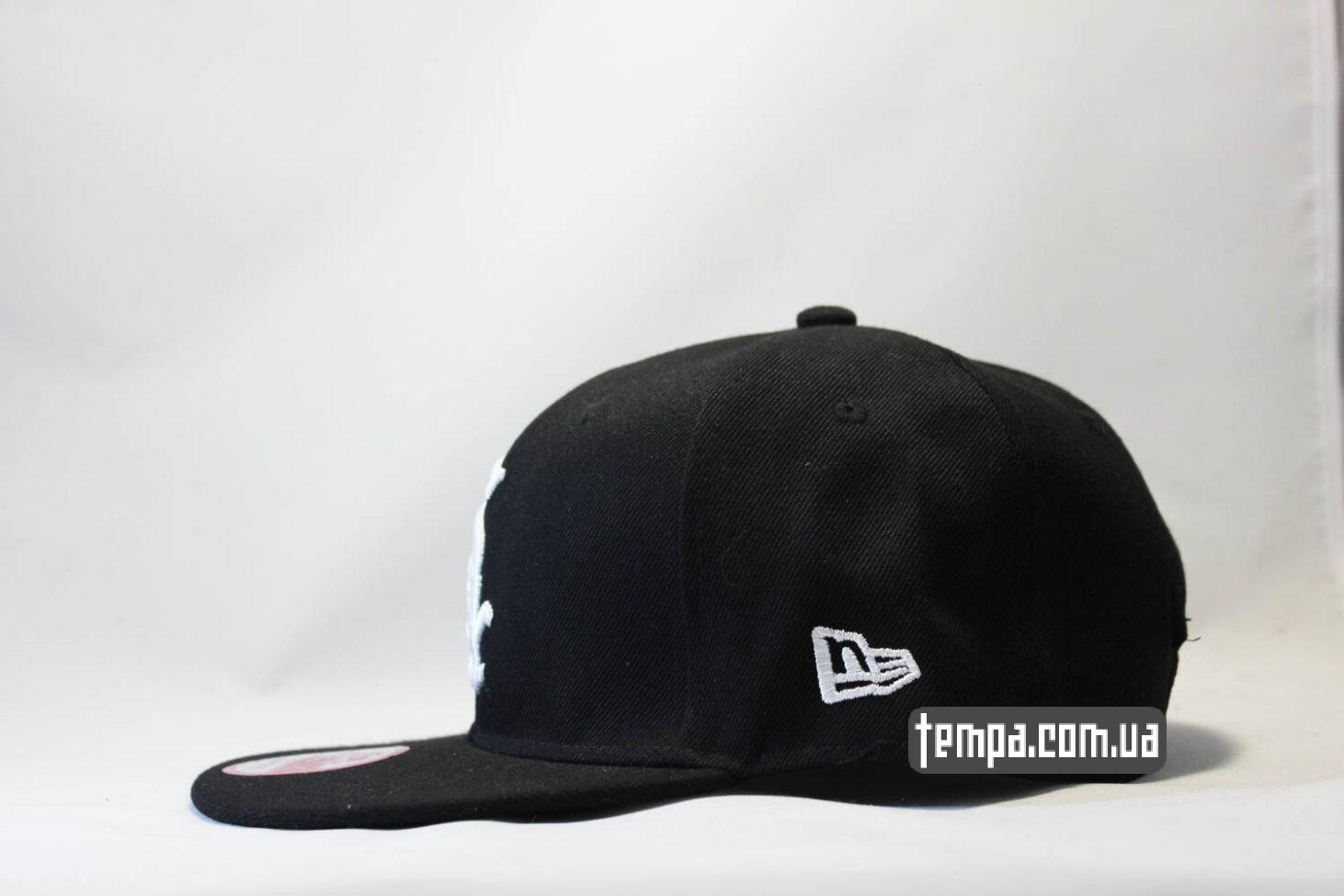 нью эра уркаина купить кепка snapback SOX new era 9fifty black черная
