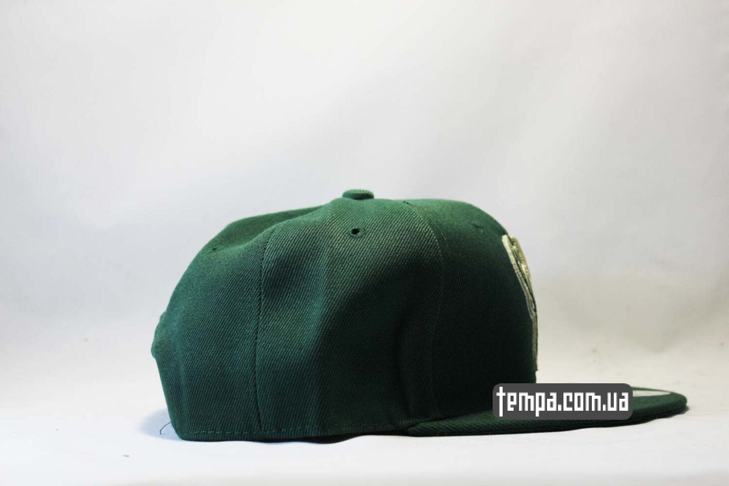с оленем кепка snapback Deer green New Era зелена baseball