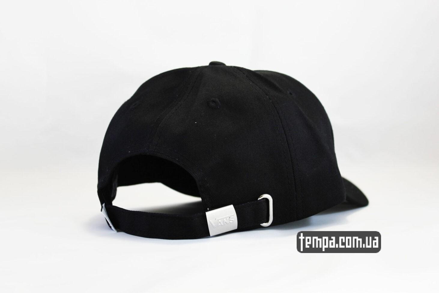 скетбординг VANS OFF THE WALL black cap черная кепка купить