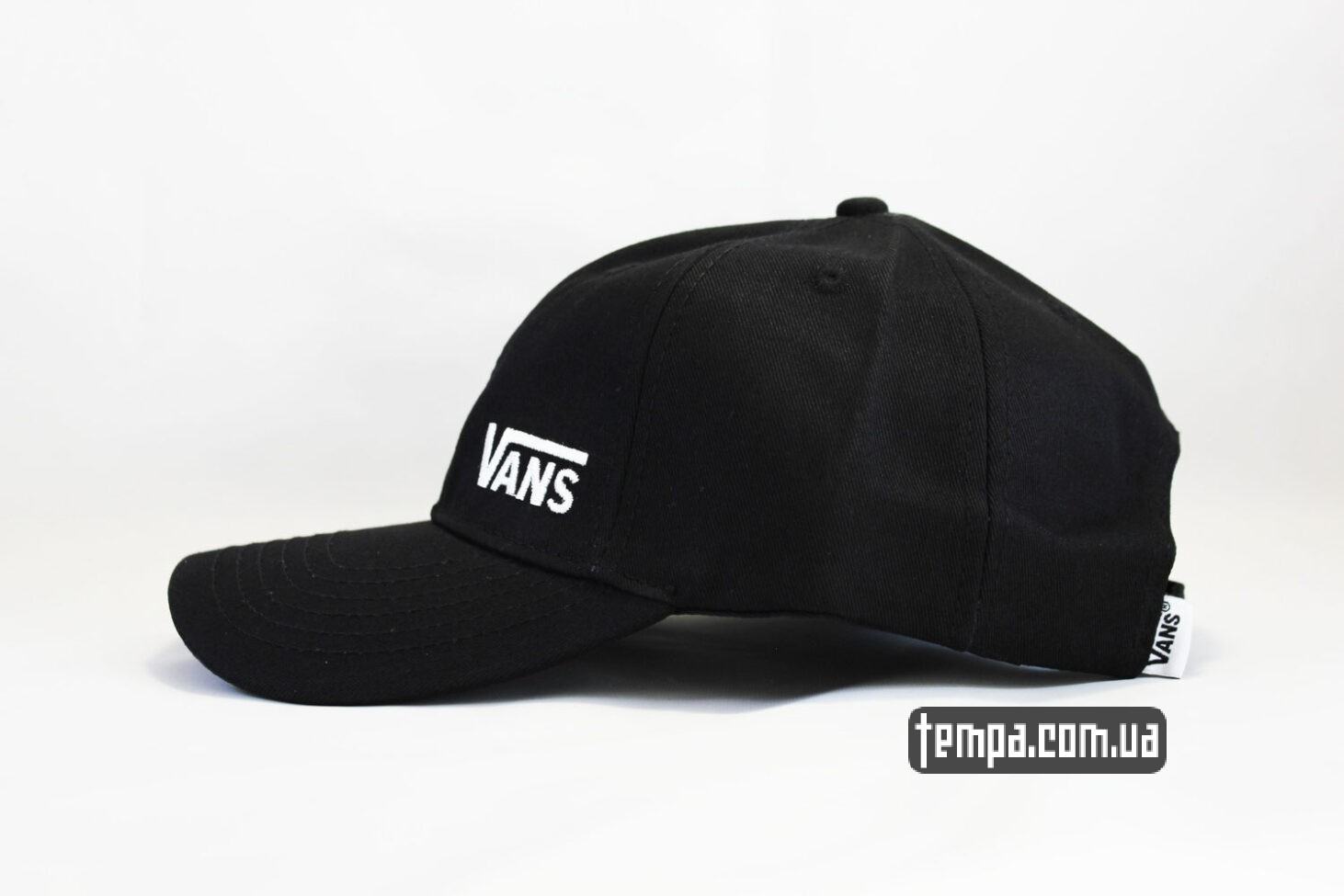 vans off the wall ukraine кепка VANS black логотип сбоку черная бейсболка