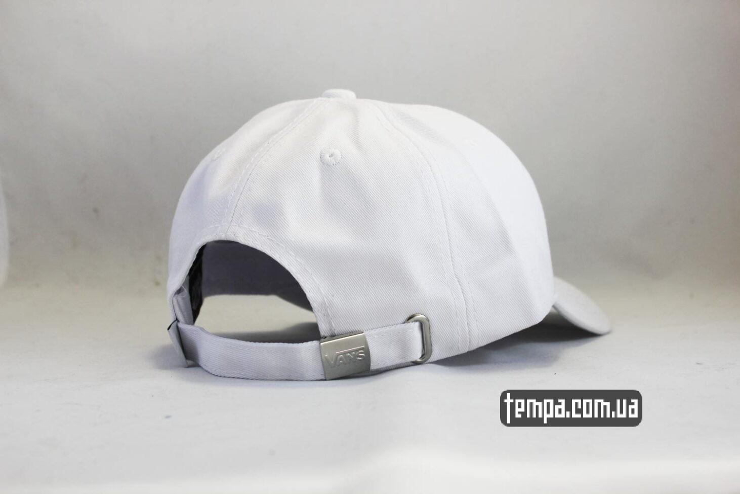 vans white кепка VANS белая snapback VANS OFF THE WALL купить