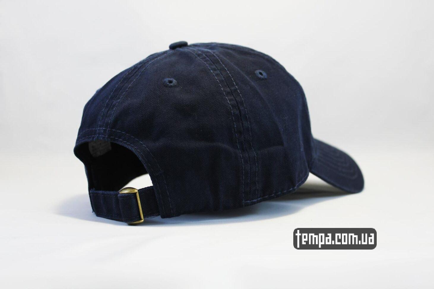 кархарт бейсболка купить кепка бейсболка Carhartt синяя кожаный логотип