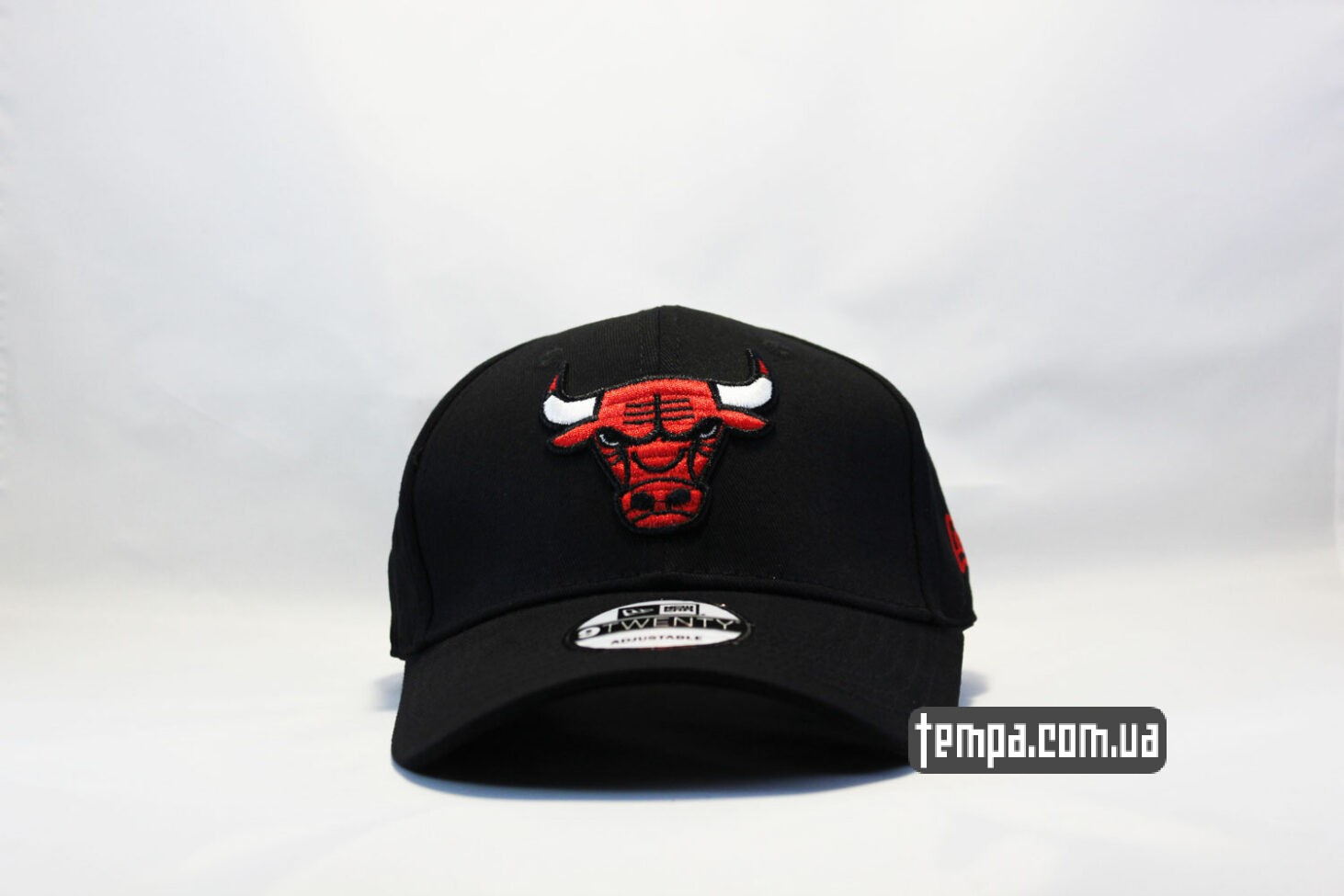 кепка бейсболка chicago bulls черная new era 9twnty с быком