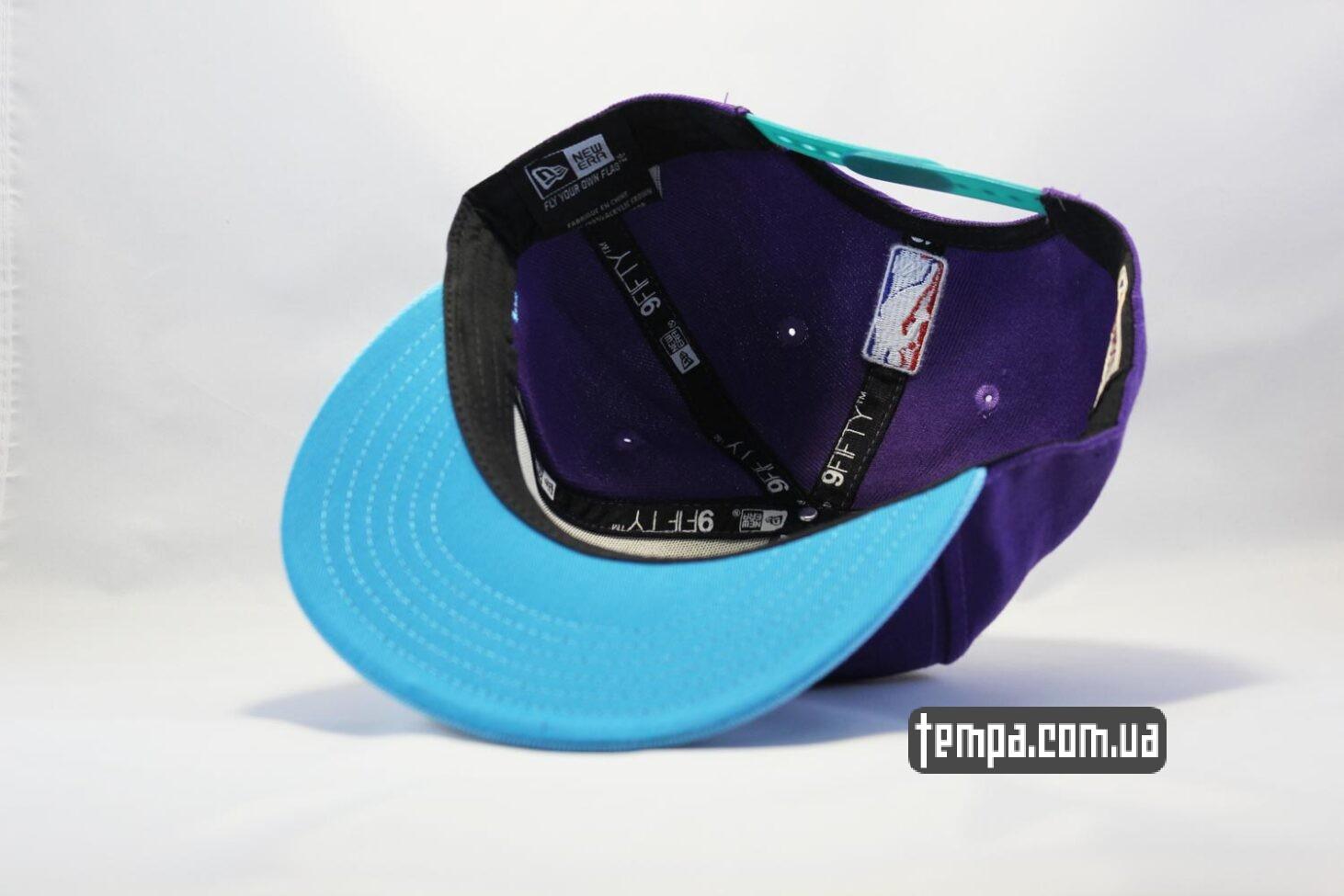 оса пчела кепка snapback Hornets фиолетовя с осой New Era купить