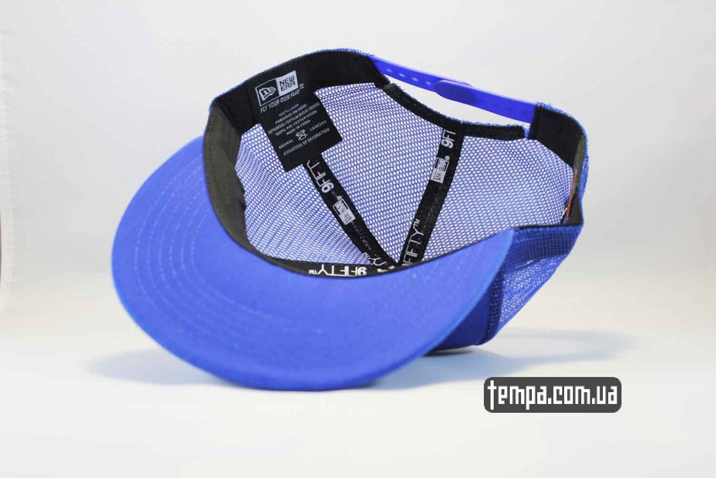 9fifty кепка Trucker Snapback La Los Angeles New Era синяя
