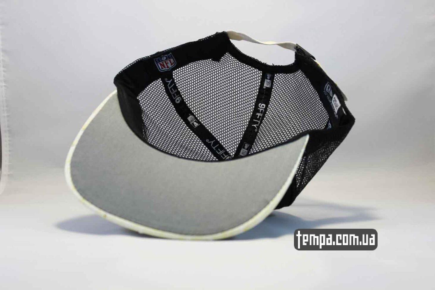 NFL одежда купить украина кепка Trucker Snapback Raiders New Era 9fifty сетка
