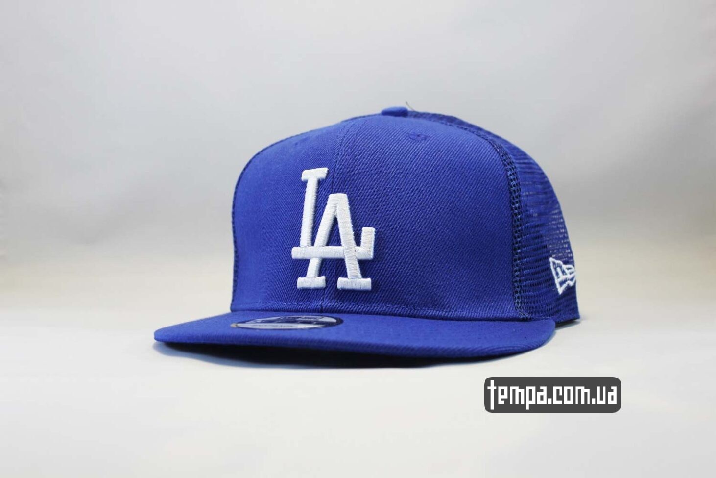 кепка Trucker Snapback La Los Angeles New Era синяя