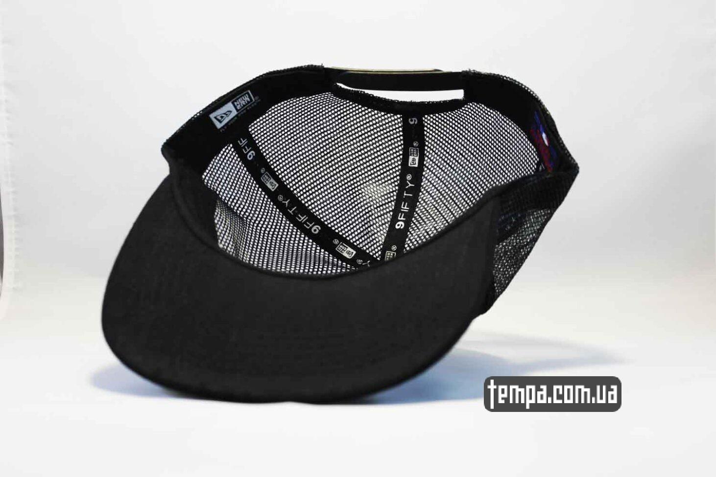 new era магазин кепка trucker snapback White SOX New Era 9fifty черная