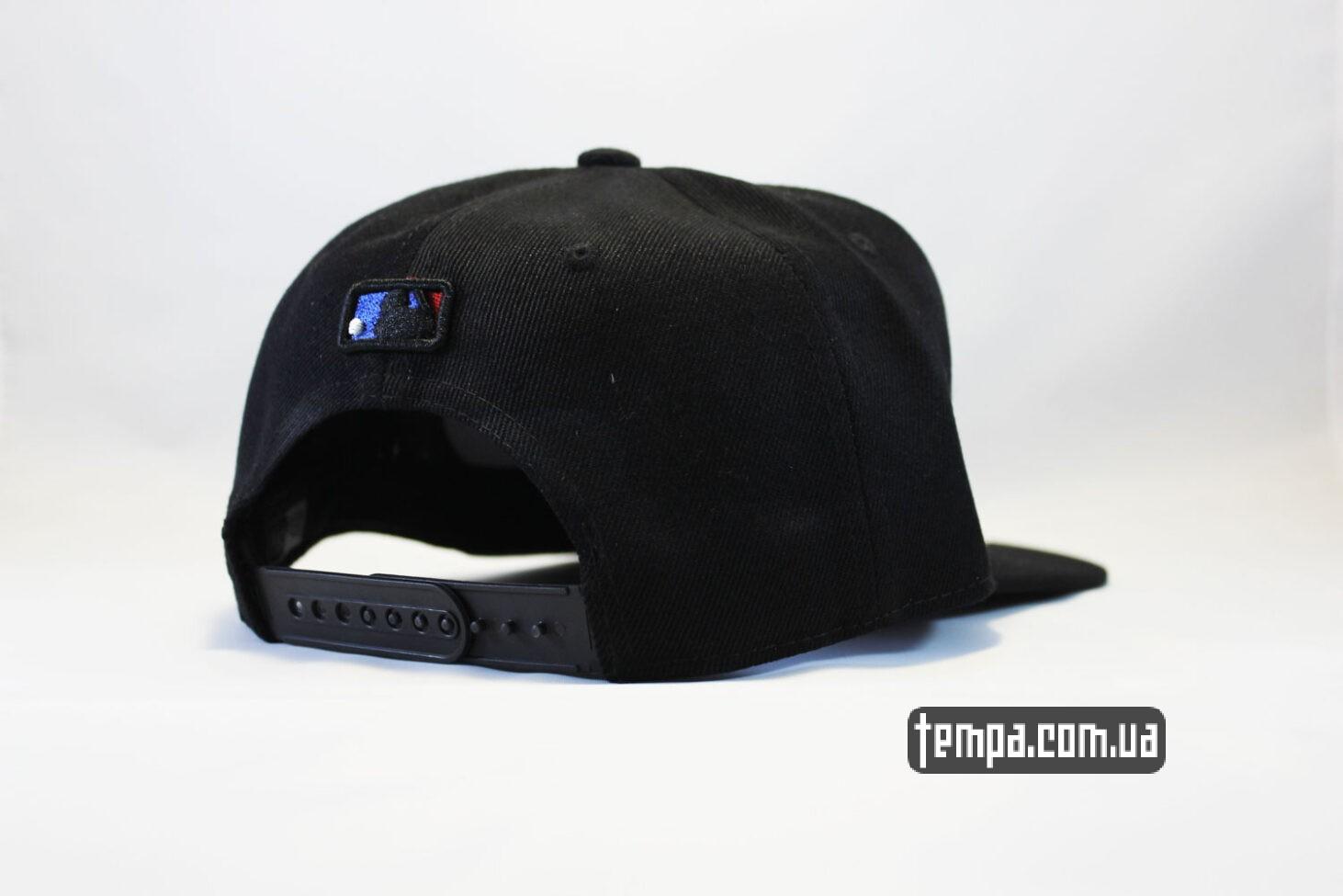 нью эра украина кепка Snapback New Era NYC New York черная на черном black