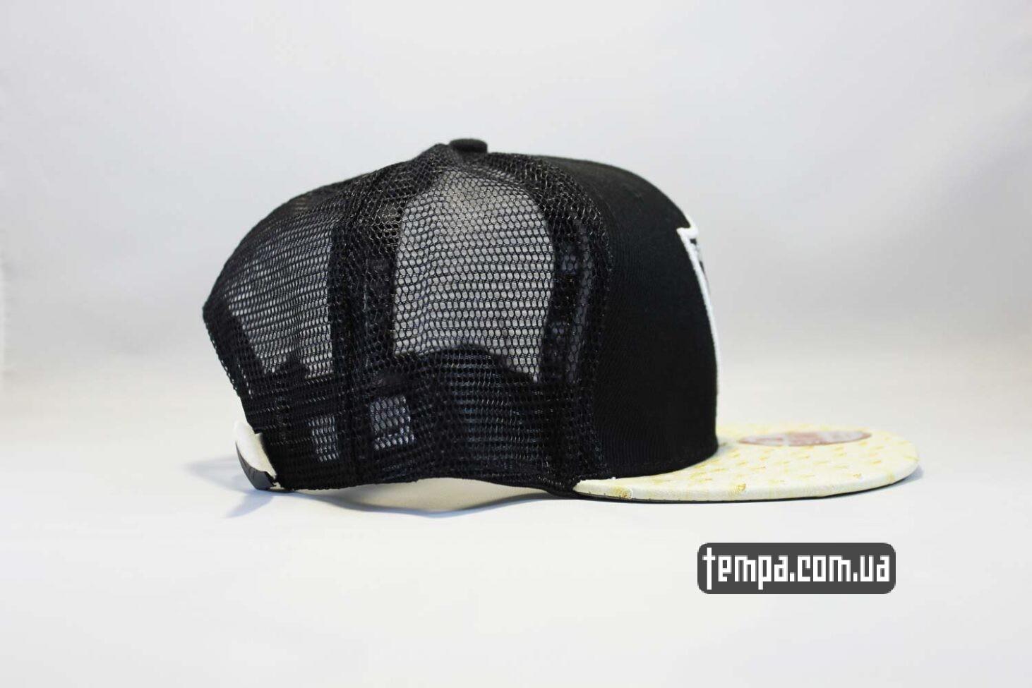 райдерс одежда купить кепка Trucker Snapback Raiders New Era 9fifty сетка