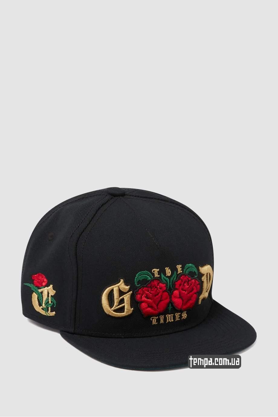 good times бейсболка с розами кепка купить украина