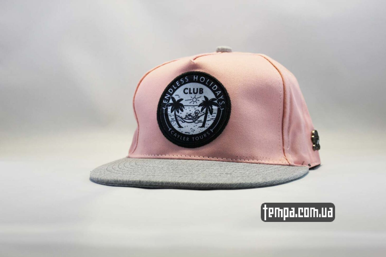 кепка snapback Endless Holildays club cayler and sons розовая