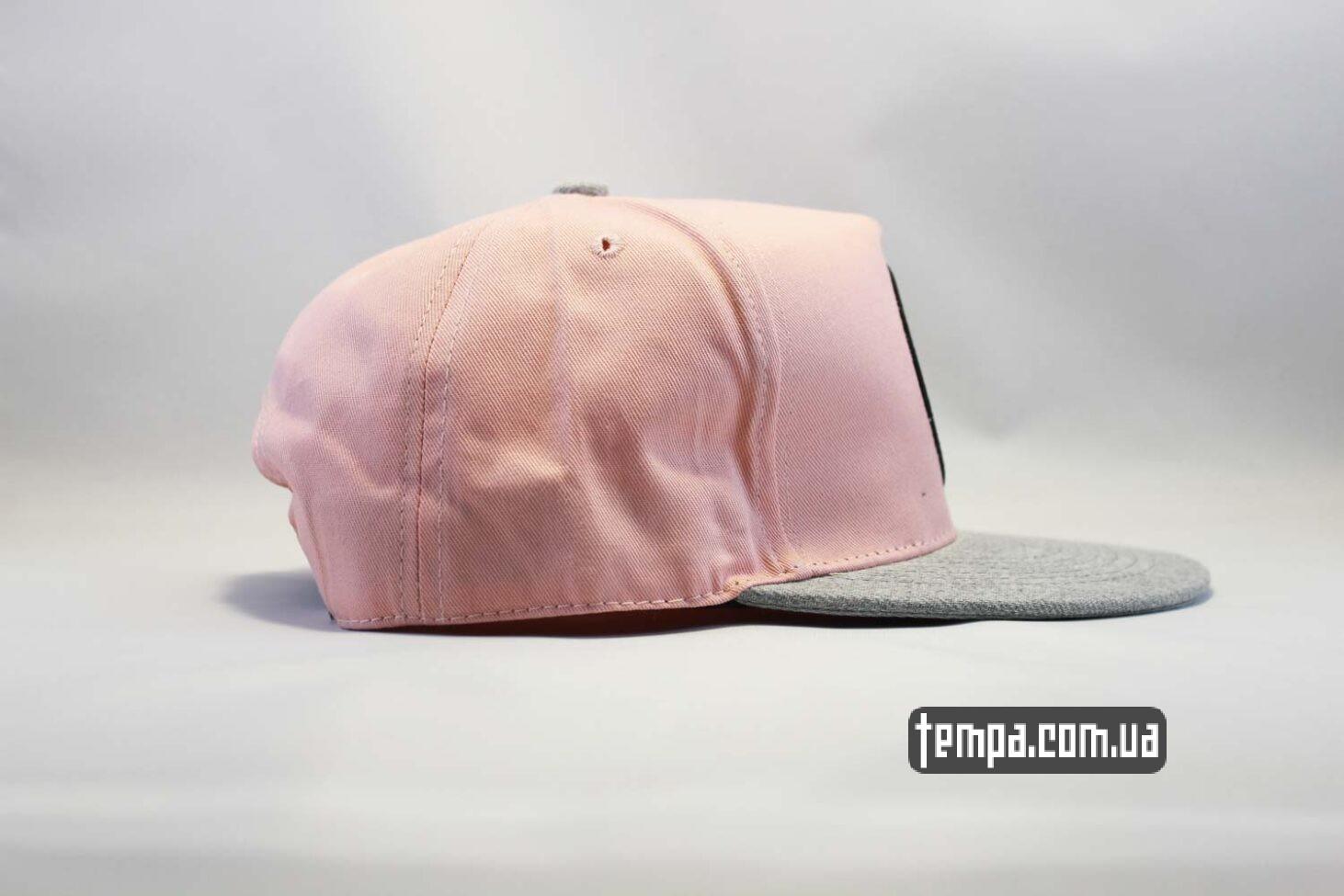 реперская одежда магазин купить кепка snapback Endless Holildays club cayler and sons розовая