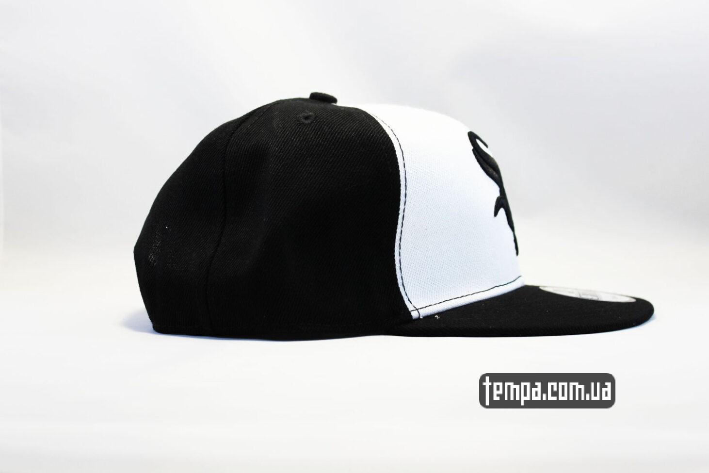 снепбеки бейсбольные кепка snapback White Sox New Era 9fifty черно-белая