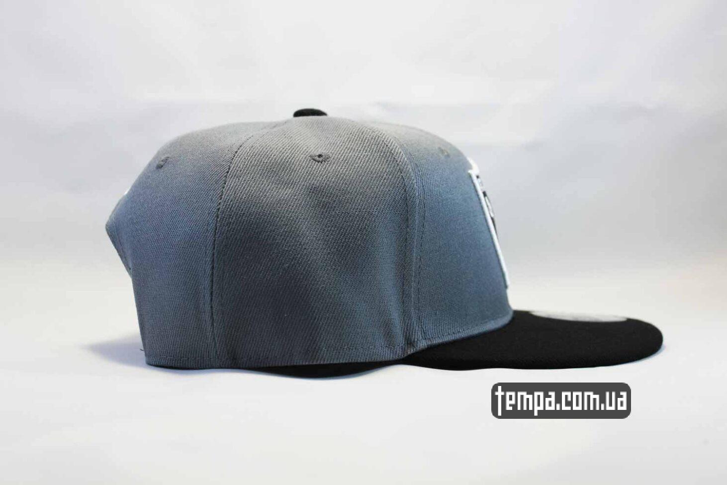 бейсболки реперки купить кепка snapback Raiders NewEra 9fifty серая