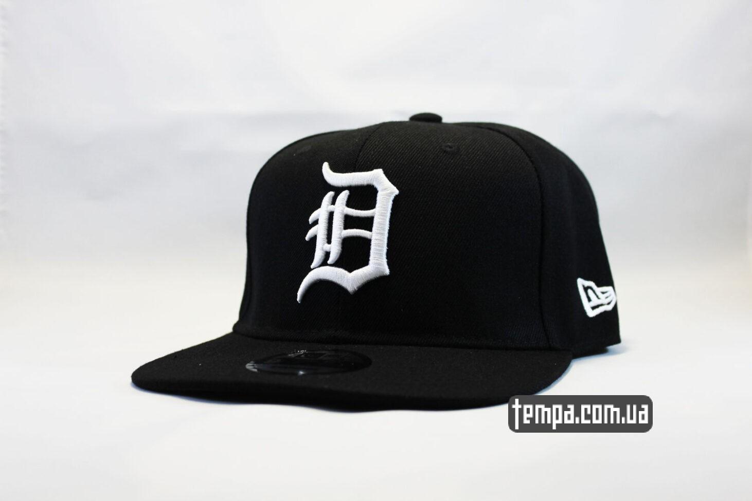кепка snapback detroit newera черная бейсболка