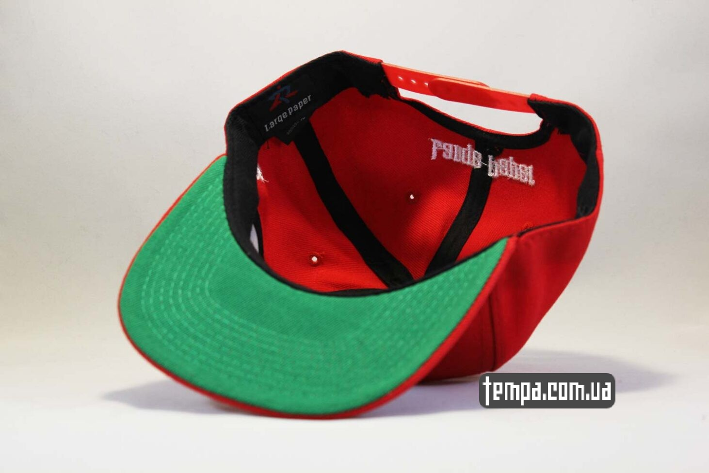 asos украина заказать кепка Snapback ASOS PHAT Red красная бейсболка