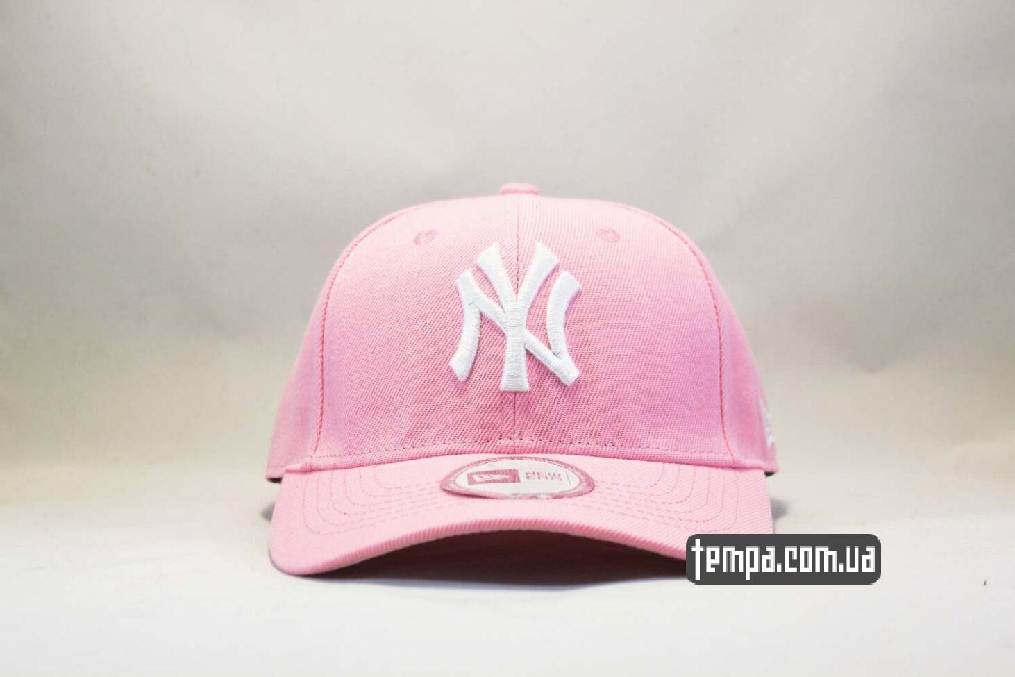 кепка бейсболка New Era Yankees Pink розовая бейсболка