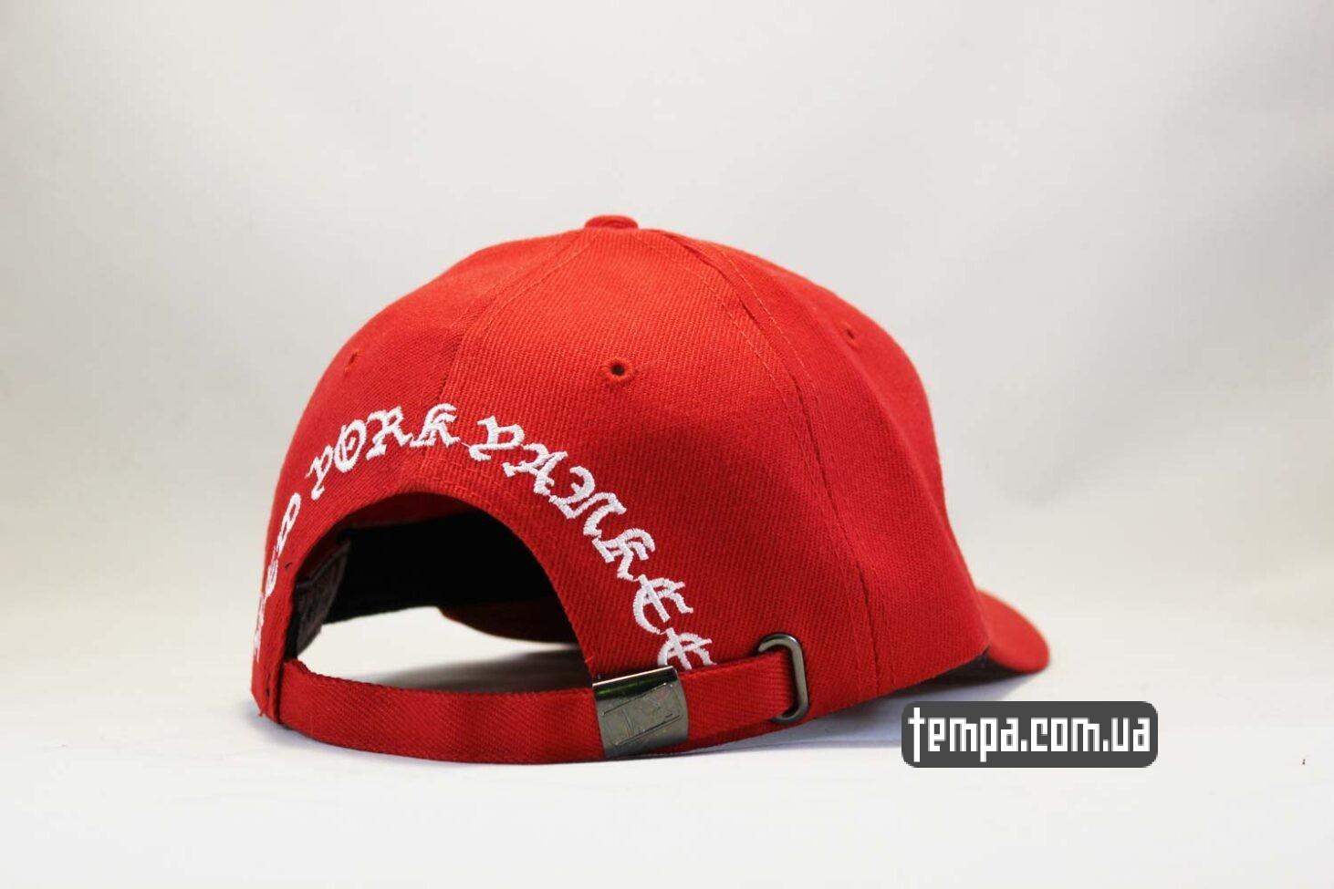 круглый козырек кепка бейсболка New Era New Tork Yankees Red красная купить