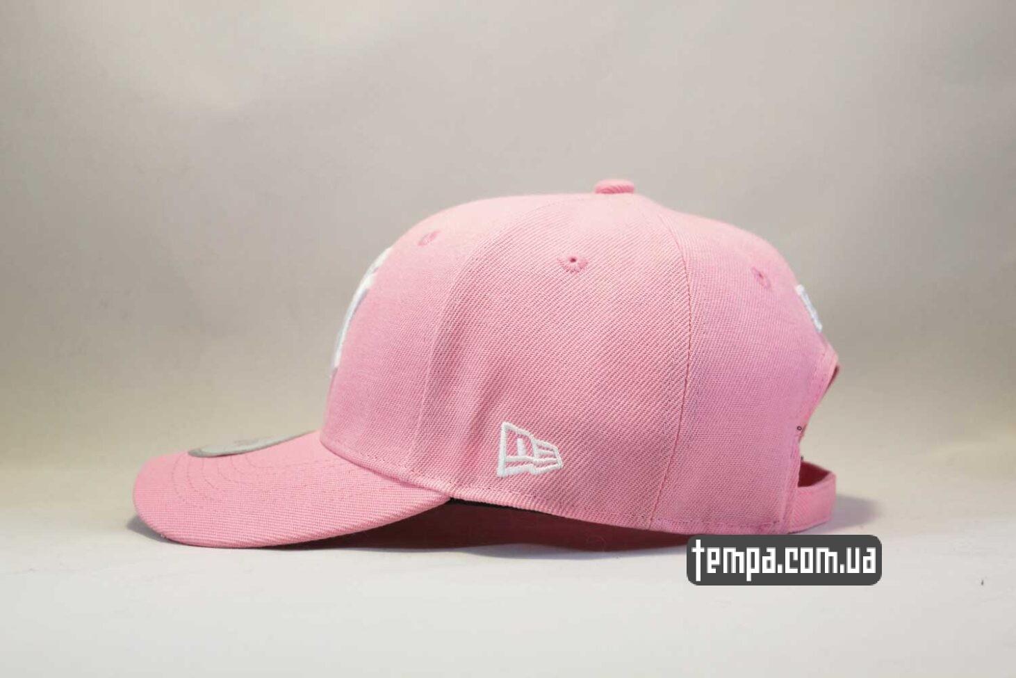 newera ориниал Украина купить кепка бейсболка New Era Yankees Pink розовая бейсболка