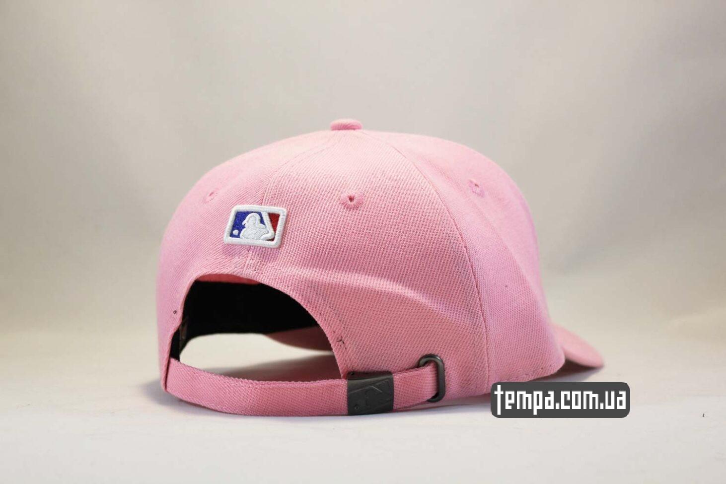 нью эра магазин кепка бейсболка New Era Yankees Pink розовая бейсболка