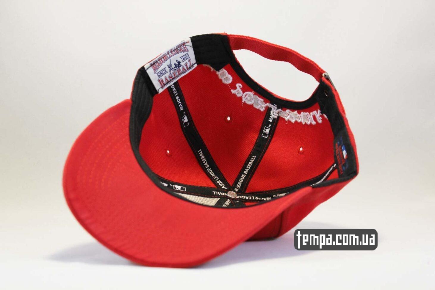 ньюэра одежда украина кепка бейсболка New Era New Tork Yankees Red красная купить