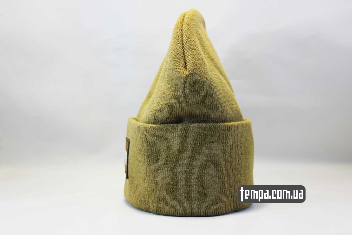 оригинал одежда шапка beanie North Face желтая Норс Фейс Украина