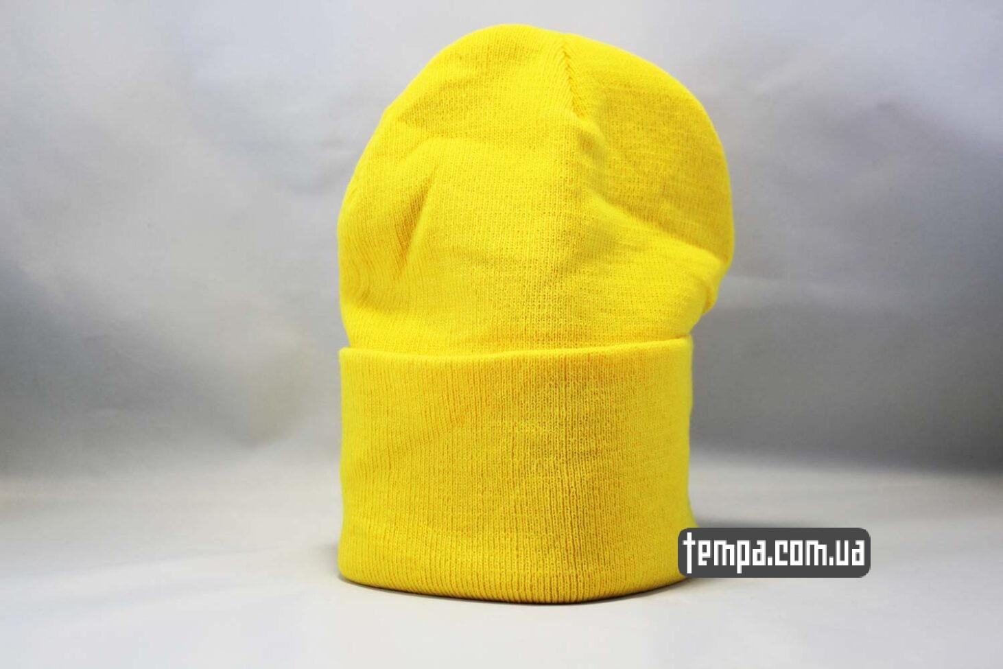 оригинальная одежда украина шапка beanie Aape желтая Украина Купить