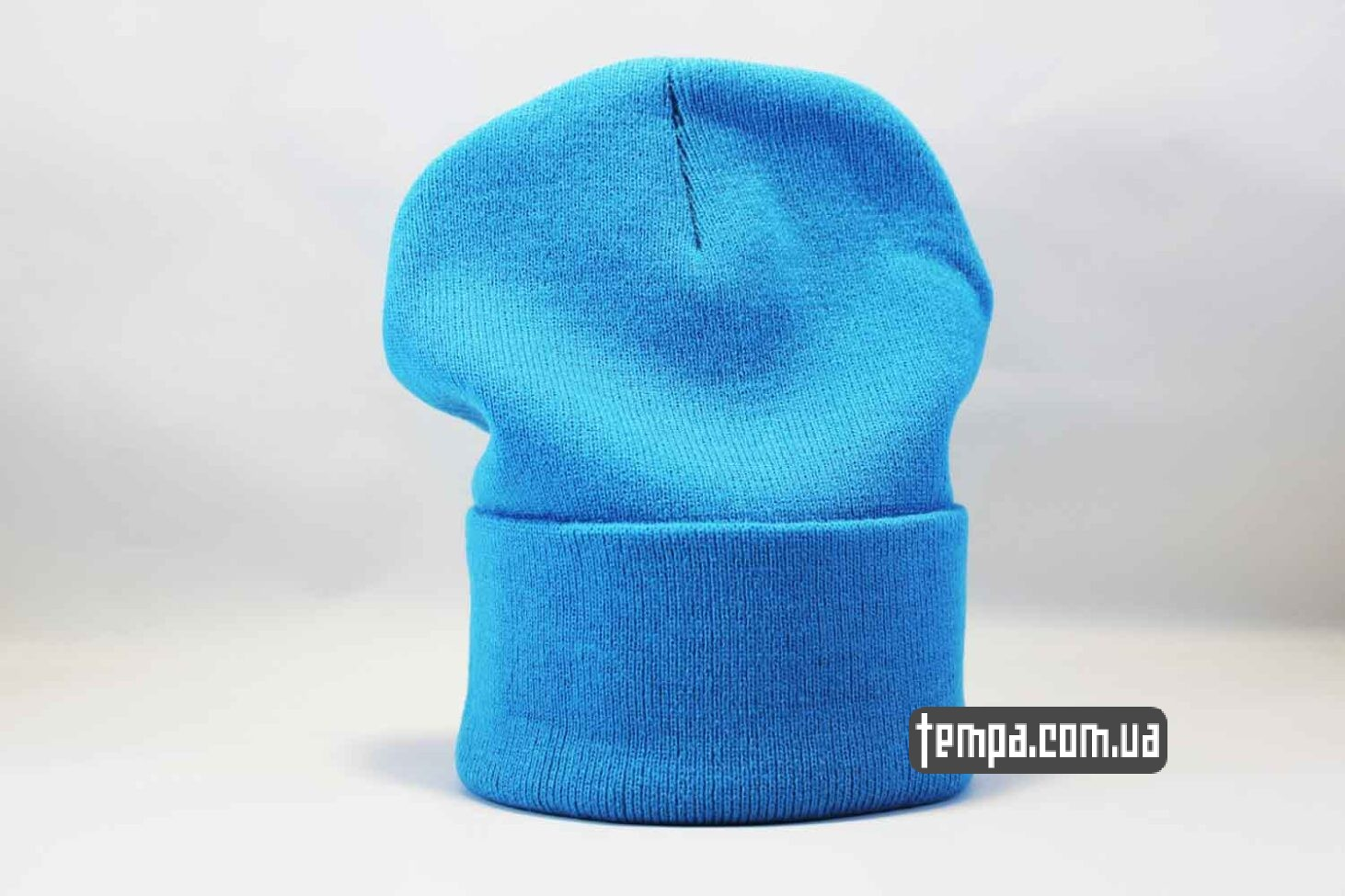 скейтерская одежда шапка beanie Aape ярко голубая купить Украина